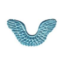 Light Blue Dresden Foil Wings ~ 7