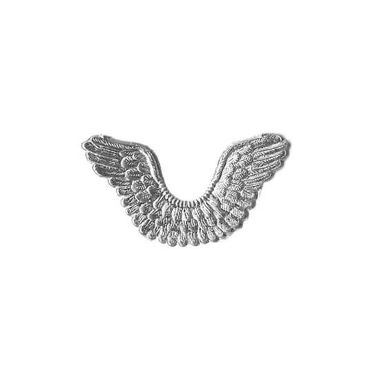 Silver Dresden Foil Wings ~ 7