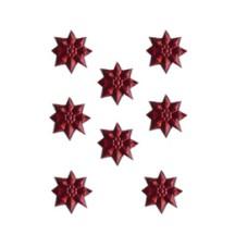 Burgundy Classic Dresden Stars ~ 240
