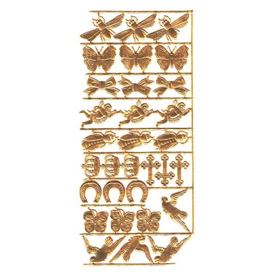 Antique Gold Dresden Foil Spring Mix