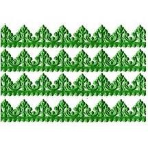 "Green Dresden Baroque Trim ~ 1/2"" wide"