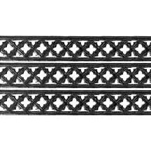 "Black Dresden Gothic Quadrofoil Trim ~ 1/2"" wide"