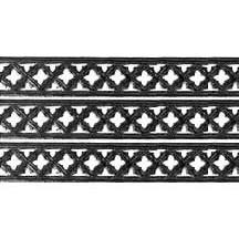 """Black Dresden Gothic Quadrofoil Trim ~ 1/2"""" wide"""
