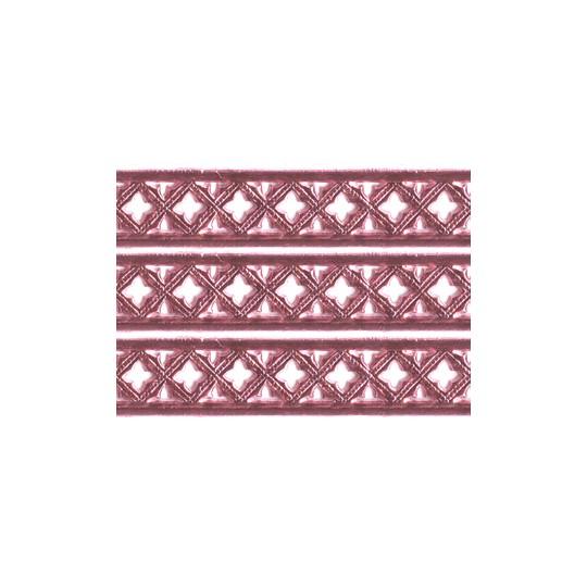 "Pink Dresden Gothic Quadrofoil Trim ~ 1/2"" wide"