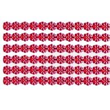 "Red Dresden Petite Flower Trim ~ 1/8"" wide"