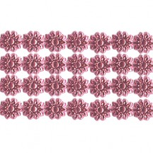 "Pink Dresden Flower Trim ~ 1/4"" wide"