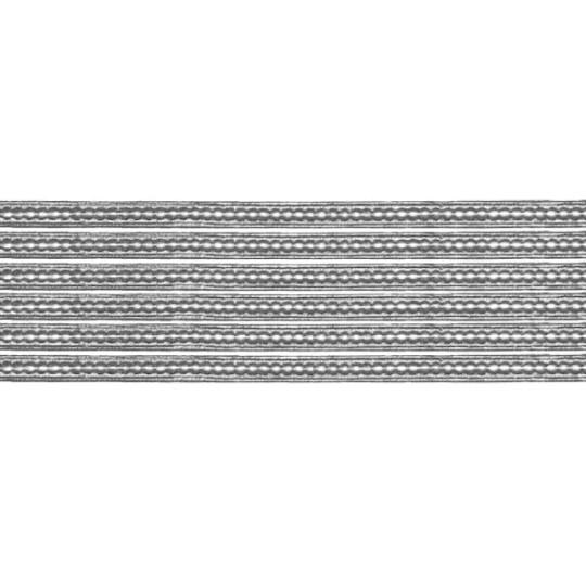 """Super Petite Silver Flat Dot Dresden Trim ~ 1/8"""" wide"""