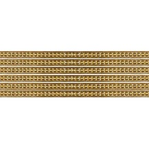 "Super Petite Antique Gold Rasied Dot Dresden Trim ~ 1/8"" wide"