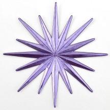 Radiant Light Purple Dresden Foil Halo ~ 2