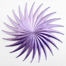Extra Large Light Purple Dresden Foil Comet or Halo ~ 1