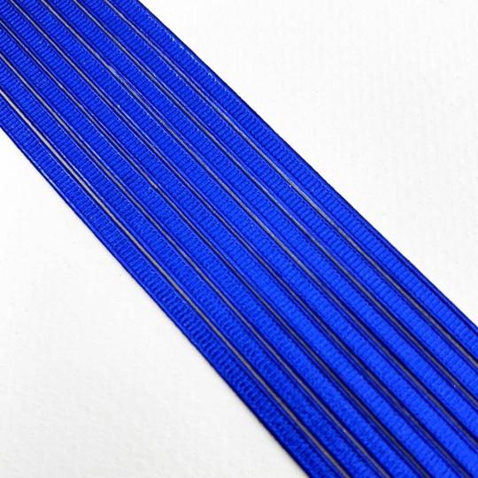 "Super Petite Dark Blue Ribbed Dresden Trim ~ 1/8"" wide"