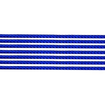 "Super Petite Dark Blue Rope Twist Dresden Trim ~ 1/16"" wide"