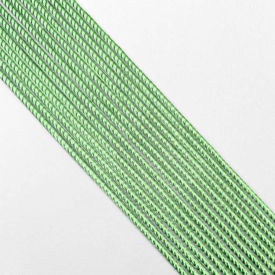 "Super Petite Light Green Rope Twist Dresden Trim ~ 1/16"" wide"