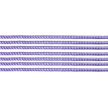 "Super Petite Light Purple Rope Twist Dresden Trim ~ 1/16"" wide"