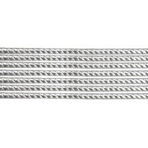 """Super Petite Silver Rope Twist Dresden Trim ~ 1/16"""" wide"""