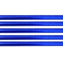 """Dark Blue Beaded Edge Dresden Foil Trim ~ 3/16"""""""