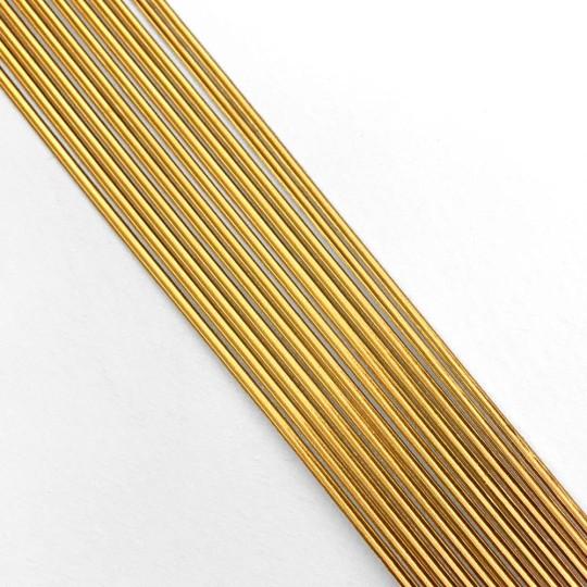 "Super Petite Antique Gold Beveled Dresden Trim ~ 1/16"" wide"