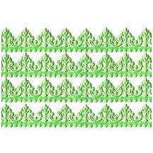 """Light Green Dresden Baroque Trim ~ 1/2"""" wide"""