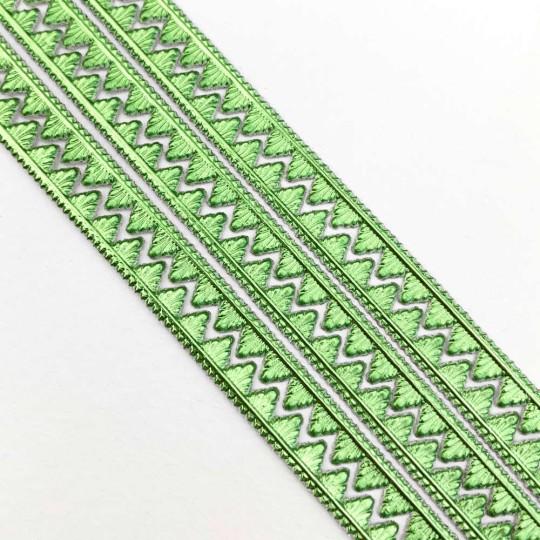 """Light Green Petite Pennant Dresden Paper Trim ~ 1/8"""""""