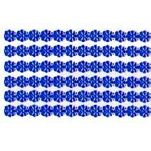 """Dark Blue Dresden Petite Flower Trim ~ 1/8"""" wide"""