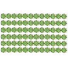 """Light Green Dresden Petite Flower Trim ~ 1/8"""" wide"""