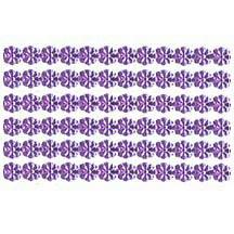 "Light Purple Dresden Petite Flower Trim ~ 1/8"" wide"