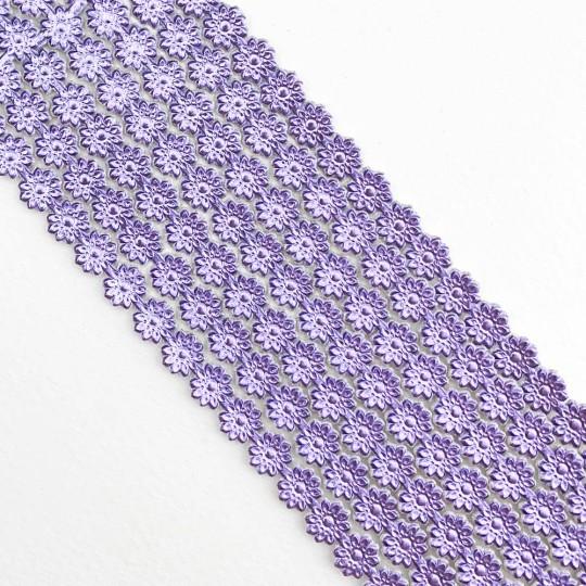 "Light Purple Dresden Flower Trim ~ 1/4"" wide"