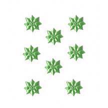Light Green Classic Dresden Stars ~ 240