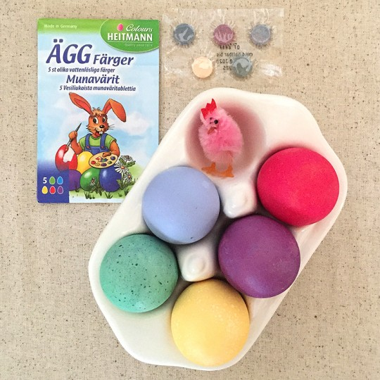 European Easter Egg Dye ~ Sweden