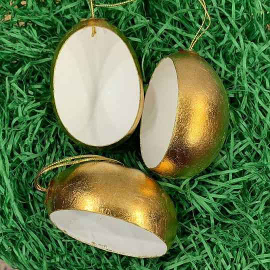 DIY Golden Diorama Egg Ornament ~ Handmade in Slovakia ~ 1 egg