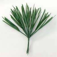 "12 Large Green Carrot Tops or Grass Blades ~ 3"" Long"