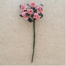 Bundle of Petite Pink Fabric Forget me Nots ~ Austria