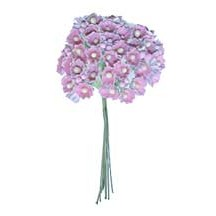 1 Bouquet of Paper Forget Me Nots in Pale Pink