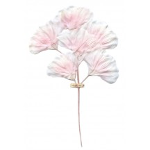 Spray of Pale Pink Silk Flower Blossoms ~ Vintage Japan