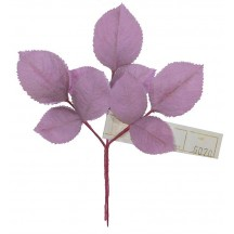 Sprig of Lavender Ombre 2 Layer Rose Leaves ~ Vintage Germany