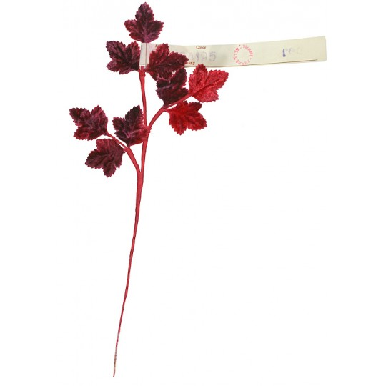 Spray of Petite Red Wine Ombre Maple Leaves ~ Vintage Germany