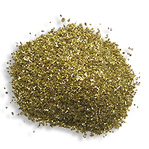1 oz German Glass Glitter in Gold ~ Fine Grit