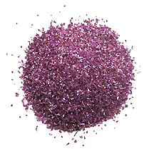 1 oz German Glass Glitter in Lilac ~ Fine Grit