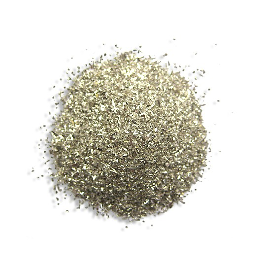 1 oz German Glass Glitter in Classic Silver ~ Fine Grit