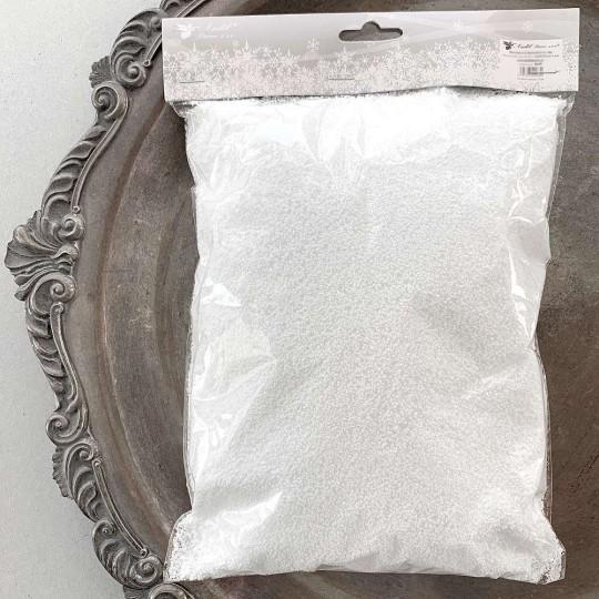 Faux Snow Retro-style Christmas Decor or Craft Embellishment ~ White ~ 40g in Bag