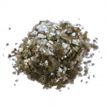 2 oz. Natural Mica Flakes ~ Antique Gold