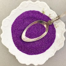 German Glass Glitter in Bright Purple ~ Fine Grit ~ 2 oz in Jar