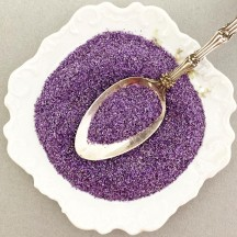 German Glass Glitter in Light Purple ~ Fine Grit ~ 2 oz in Jar