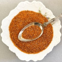 German Glass Glitter in Pumpkin Orange ~ Medium Grit ~ 2 oz in Jar