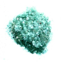 2 oz. Natural Mica Flakes ~ Jade Green