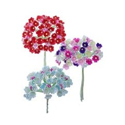 Flocked Paper Forget Me Nots