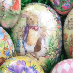 Papier Mache Eggs from Germany