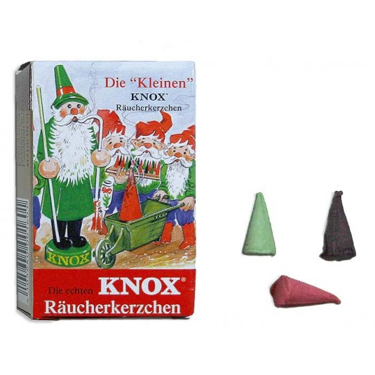 24 Mini Incense Cones in Assorted Scents ~ Germany