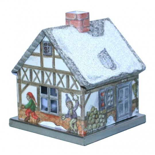 Half Timbered House Incense Smoker ~ Germany