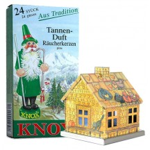 Hansel and Gretel Fairytale House Incense Smoker with Box of Pine Incense ~ Germany ~ Gift Boxed